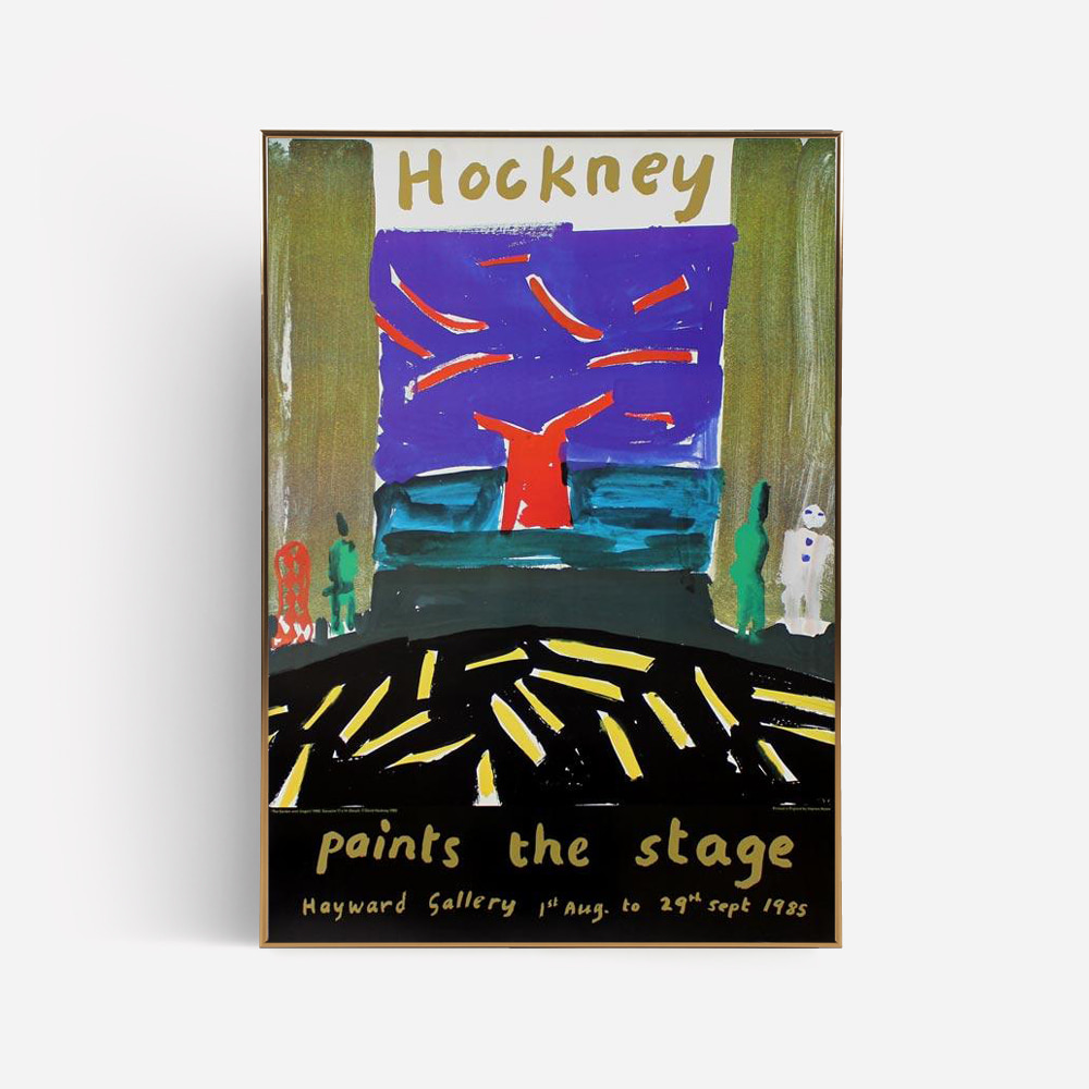 [DAVID HOCKNEY] Paints the Stage